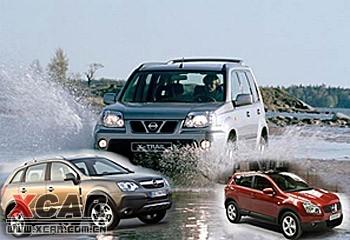 上海通用 东风日产将分别引进新款SUV车型高清图片