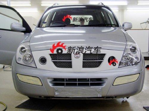 谍照曝光 荣威名爵第二款SUV车型揭秘