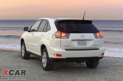 雷克萨斯RX330外观-雷克萨斯第三代RX车型明年或将引入国内图片