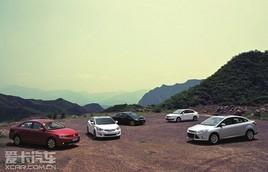 国家杯 五款运动型紧凑级车型对比测试