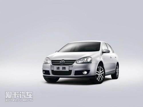 中级车市场代表车型:一汽-大众速腾高清图片
