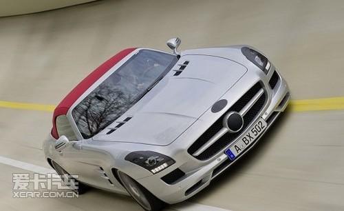 AMG Roadster 目前在正在德国进行测试的SLS AMG ...