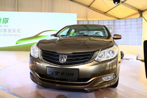 上海通用汽车五菱宝骏630将于7月上市高清图片