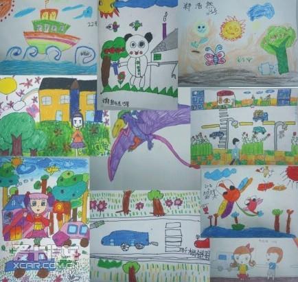 港宏广本第二场儿童绘画大赛圆满结束
