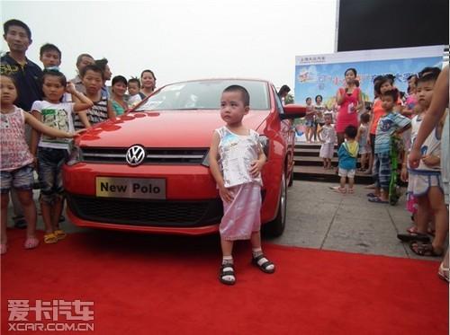 """机场路上海大众可爱""""小不点""""车模大赛"""