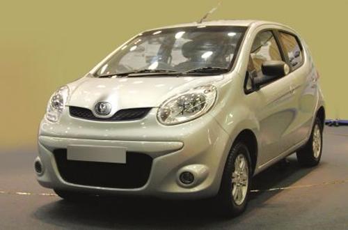 2012款长安奔奔mini 将在广州车展上市高清图片