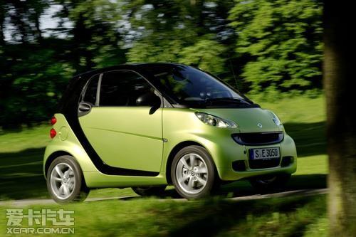 奔驰smart fortwo 奔驰汽车 benz 高清图片
