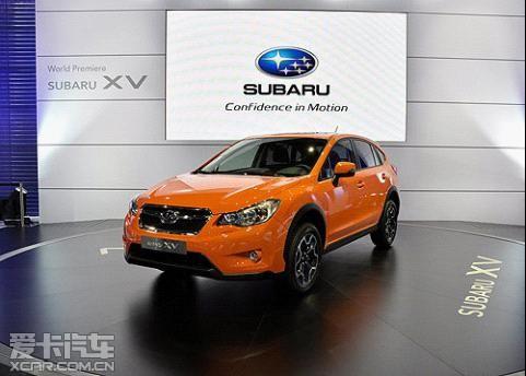 2012款斯巴鲁XV跨界SUV车型-斯巴鲁推两款全新翼豹车型东京车展首