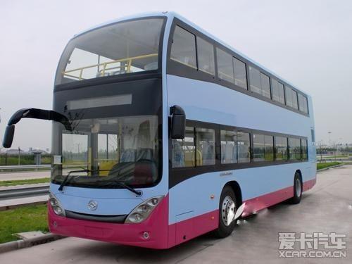 合肥下月或增公交线路20辆双层巴士到位