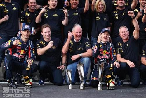 英菲尼迪全球品牌形象代言人获f1总冠军 高清图片
