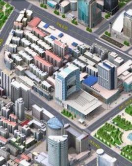 e都市三维实景地图