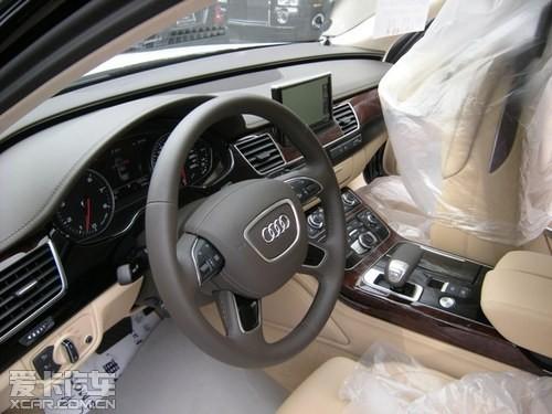 2013款奥迪A8天津保税区现车年尾极致促销享最高优惠
