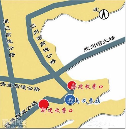 黄岛4路公交车路线