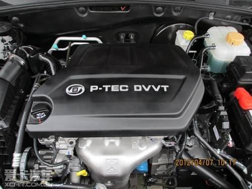汽车   全球技术平台的DVVT发动机和GF6变速箱,宝骏630全新自动挡高清图片