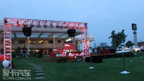 雷克萨斯全新gs的魅力之夜.   随着现场精彩的节目表演,雷克高清图片