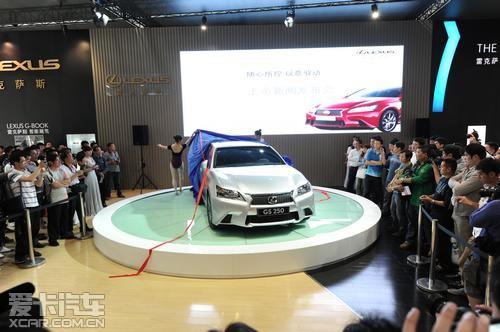 全新一代gs车型对lexus雷克萨斯l finesse设计语言进行了崭高清图片