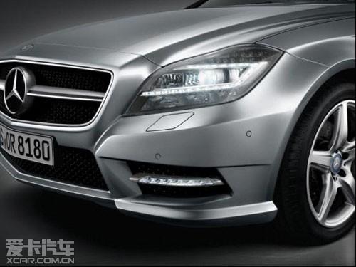 开创一个新细分市场的梅赛德斯-奔驰cls轿跑车自2004年10月高清图片