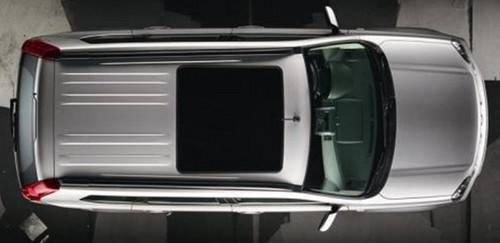 汽车天窗结构图解