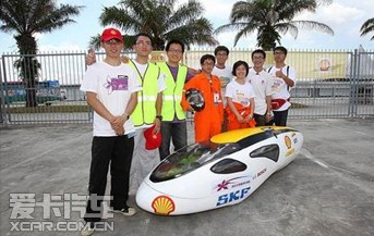 2012年壳牌亚洲汽车环保马拉松赛闭幕