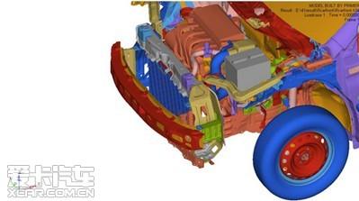 基础很关键 从车身结构看全球鹰gx7_爱卡汽车