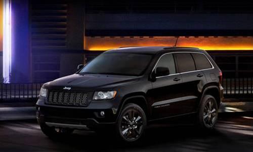 jeep梦十珍藏版车型 即日起接受预定 高清图片