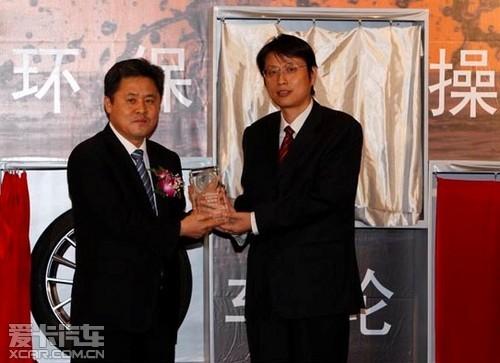 """耐克森赢得""""2012年度舒适性轮胎""""大奖"""