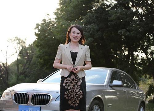 访宝马7系车主 博瑞智教育总裁张湘禾