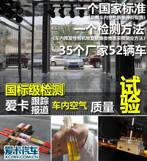 国标级检测 跟踪报道车内空气质量试验