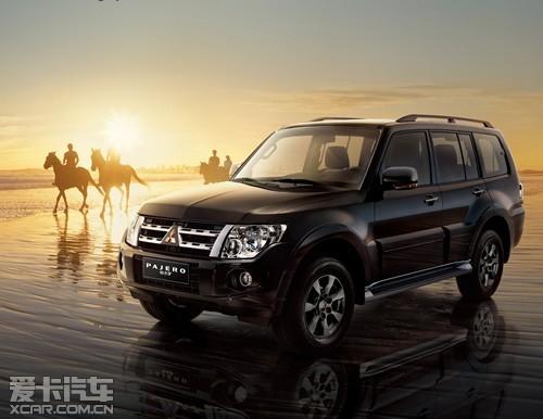 进口三菱 帕杰罗 进口品牌群星荟萃 山东国际车展耀目登场