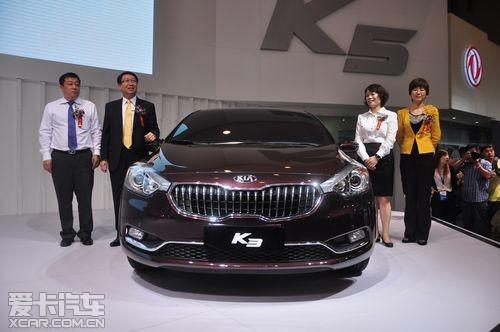 青岛秋季车展k3亮相中级车市场再起风云      今年,是东风悦达起亚