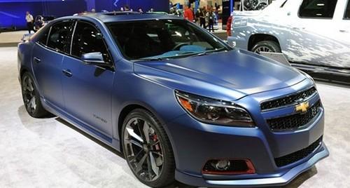 在这次改装盛会上,雪佛兰公司带来的多款改装概念车中,迈锐宝涡轮增压