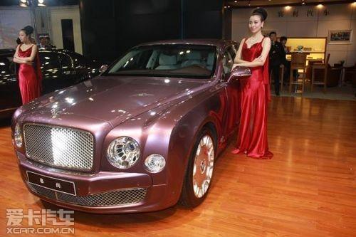 宾利强大阵容亮相12月6日太原国际车展高清图片