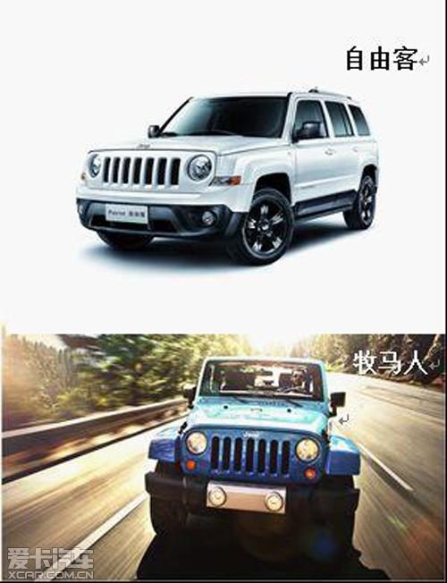 jeepsuv车型_jeep家族中三对同品牌兄弟suv车型大pk