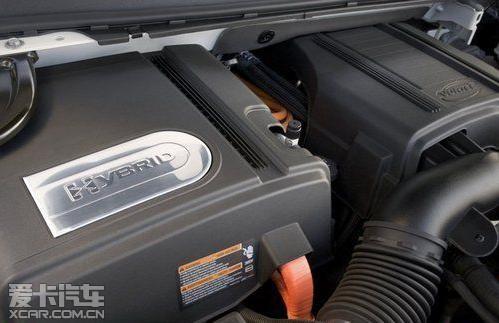 双模油电混合动力系统 最省油的豪华SUV高清图片