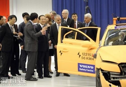 济南富豪沃尔沃提升 汽车安全 新标签高清图片