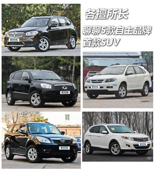 各擅所长  聊聊5款自主品牌的首款SUV -1
