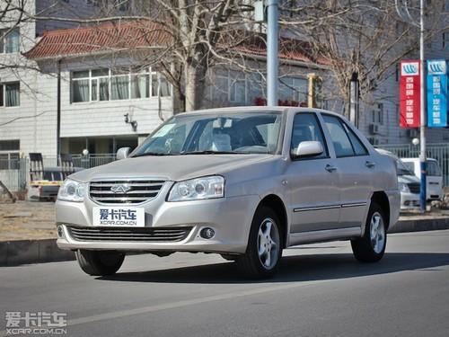 奇瑞旗云2此次共推出5款车型,动力依然是老款上采用的1.5L发动机高清图片