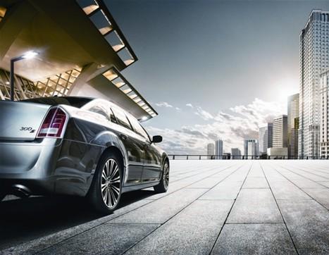 克莱斯勒新进口300系 大捷龙亮相上海车展高清图片