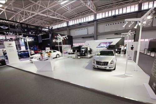 凯迪拉克车展位于青岛国际博览中心s1展馆