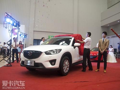 场公布了长安马自达cx-5的市场价格,全新上市的长安马自达ma高清图片