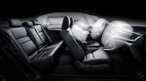 凌派crider采用ace高级兼容性车身结构,使车辆在碰撞发生的时候