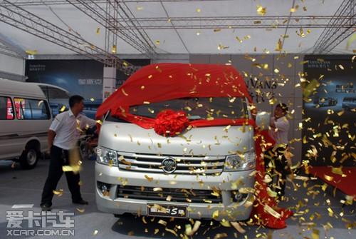 福田商务 蒙派克两款新车强势登陆郑州高清图片