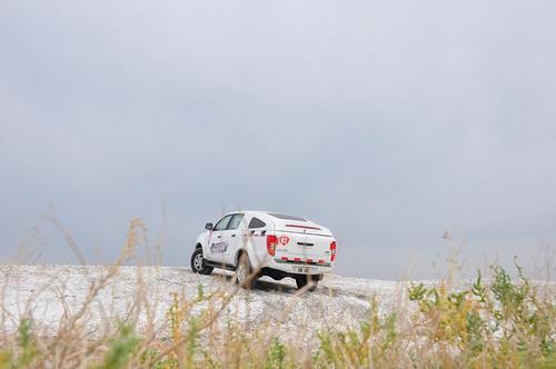 汽车征途致敬国门卫士试驾爱卡域虎_奥迪勇者江铃R8跑得过458图片
