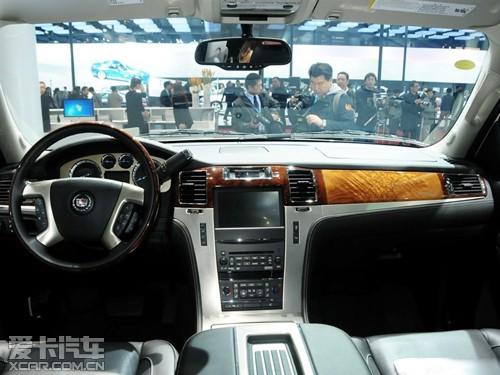 原装凯迪拉克总统一号拥有作为豪华   商务车   型所应具高清图片