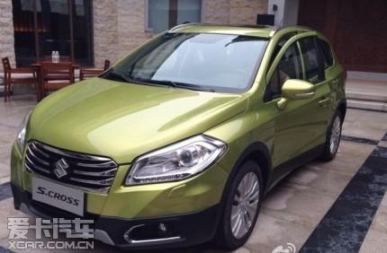 长安铃木全新SUV S CROSS中文定名 锋驭高清图片