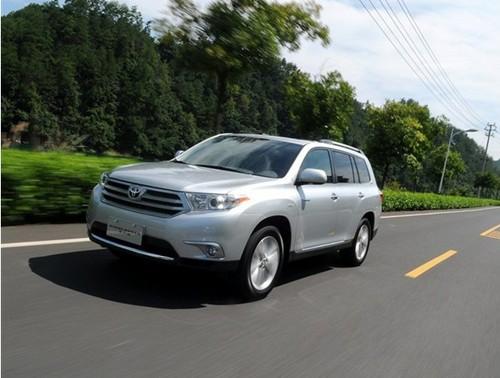 30万元七座SUV 丰田汉兰达七座首选高清图片