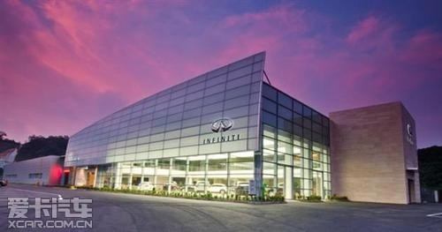 作为中山市第一家英菲尼迪豪华   汽车4s店   ,中山吉诺中高清图片
