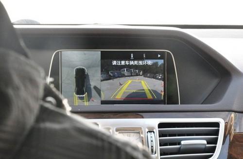 驰全新一代E级360度全景倒车影像系统演示-吴江之星奔驰E级轿车幽