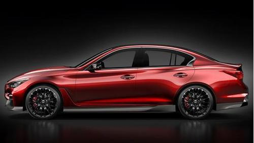 英菲尼迪品牌专区>>>   q50 eau rouge概念车的设计由英菲尼高清图片