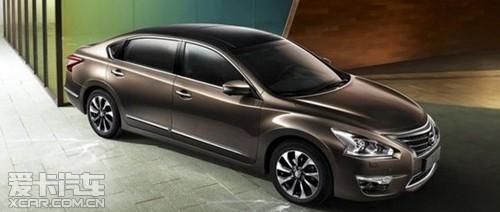 2013年初东风日产发布的新世代天籁,打响了2013年中高级车市场竞图片